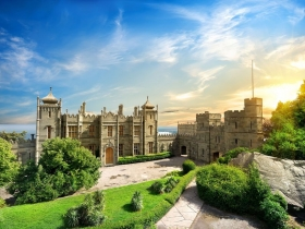 Воронцовский дворец в Крыму (Алупка)