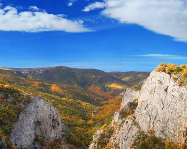 Путешествие по горному Крыму