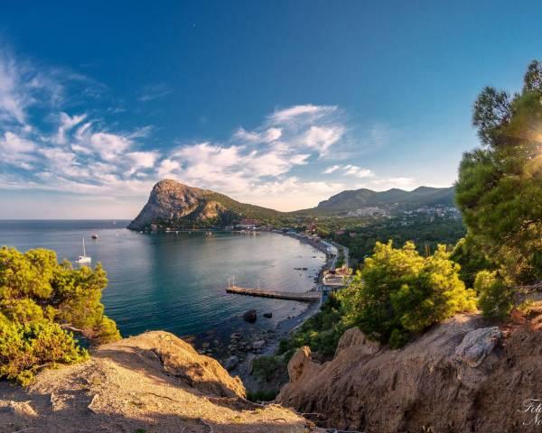 Самое красивое место в Крыму для отдыха