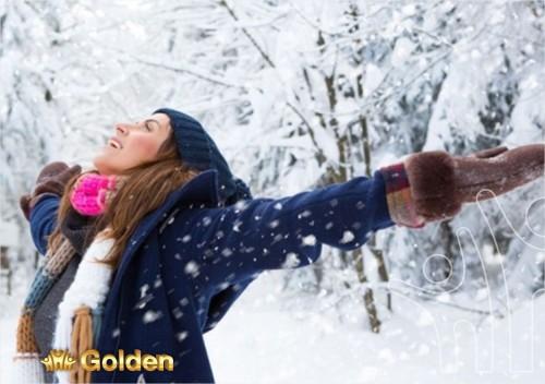 Санаторий Golden зимой
