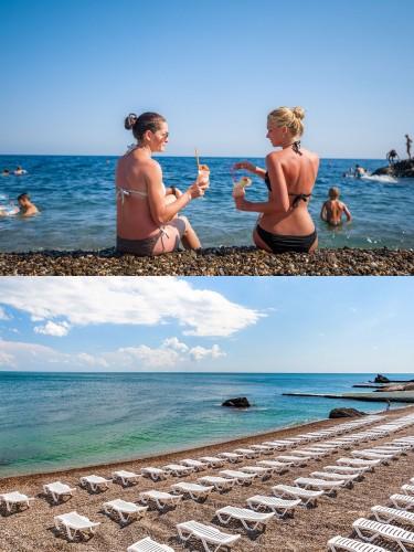 Пляж-санатория-Форос