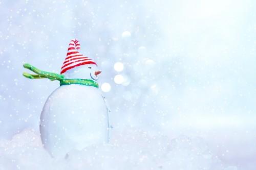 Снеговик в новый год 2022