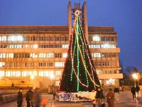 Новогодняя в Алуште