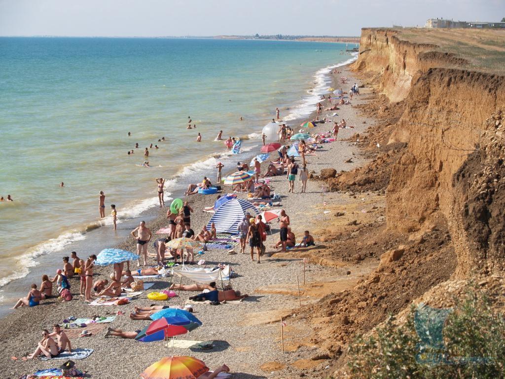 Пляж николаевка крым фото 2018