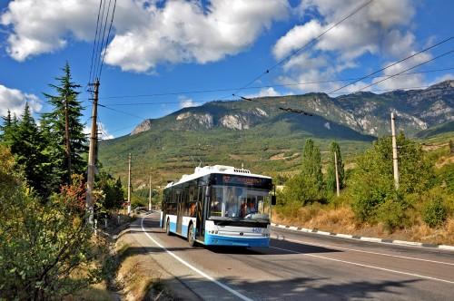 Транспорт в Крыму - троллейбус
