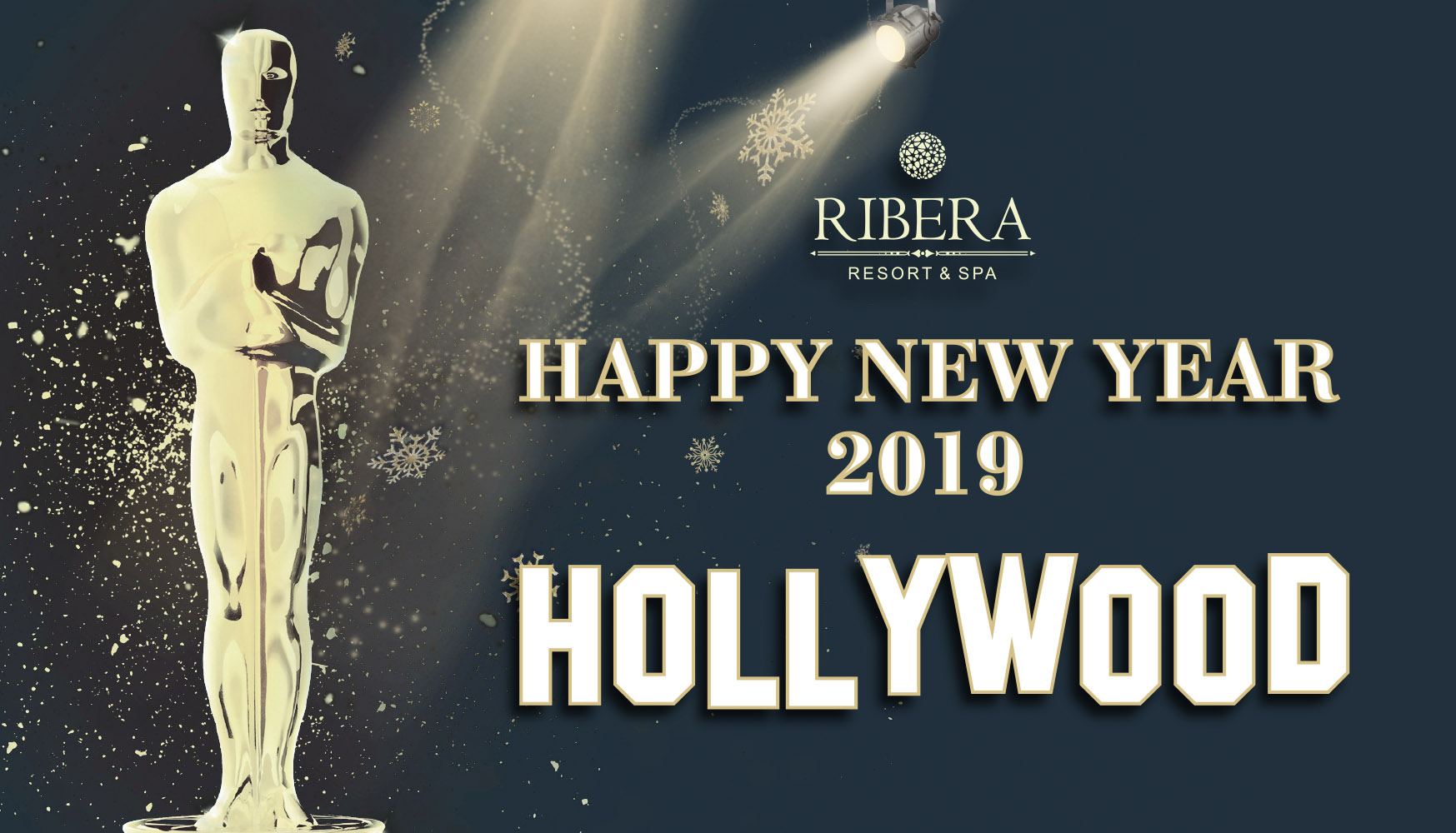 Новый год 2019 в отеле Ribera Resort