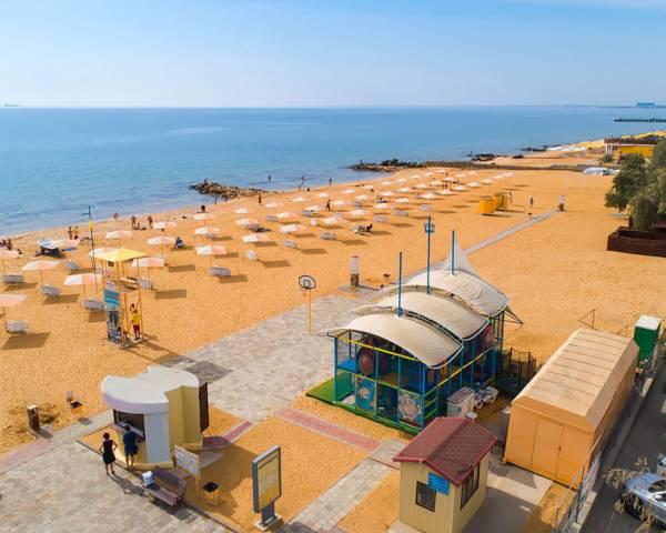 Золотой пляж - Феодосия