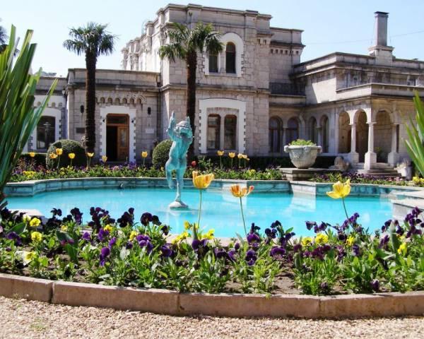 Юсуповский дворец в Крыму
